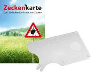 RNK Zeckenkarte 'Safecard' mit Lupe, 85 x 54 mm