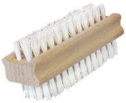 Peggy Perfect Brosse à ongles, en bois, brosse en fibres