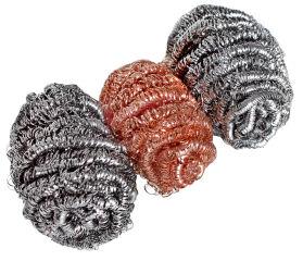 Peggy Perfect Eponge spirale en acier inoxydable Spirinett,