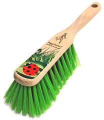 Peggy Perfect Balayette pour le jardin, bois, brosse en