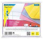 Peggy Perfect Chiffon multi-usages non-tissé, paquet de 6