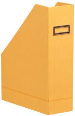 RHODIA Porte-revues, en similicuir, A4, orange