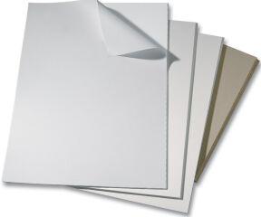 folia Carton gris, (L)400 x (H)500 mm, épaisseur: 2,5 mm