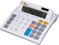 TWEN calculatrice de table W-1200 solar, 12 chiffres, LCD