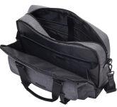 LIGHTPAK sac pour ordinateur portable 'TWYX', polyester,gris