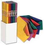 folia Papier cadeau 'Bicolor', sur rouleau, présentoir