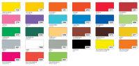 folia Carton pour affiches, (L)480 x (H)680 mm, rouge foncé