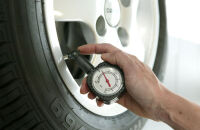 IWH Manomètre pour pneu, analogue, 4,5 bars