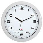 ALBA Horloge murale HORNEW M, montre à quartz, gris