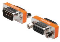 ASSMANN Adaptateur null modem, Sub-D 9 broches, mâle-femelle