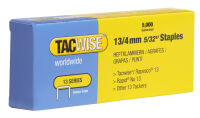 TACWISE Agrafes 13/6 mm, galvanisé, fin