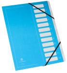 extendos Trieur série 122 'Flashy', 12 compartiments, bleu
