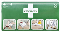 CEDERROTH Bandage hémostatique 4-en-1, mini