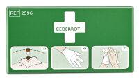 CEDERROTH Kit de protection premiers secours, 3 pièces