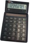 TWEN Calculatrice de bureau ECO 10, écran LCD à 10 chiffres,