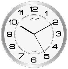 UNiLUX Horloge murale à quartz 'ATTRACTION', magnétique