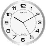 UNiLUX Horloge/horloge à quartz 'MAGNET', magnétique, argent