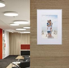 MAUL Cadre-photo aluminium, 90 x 140 mm, argent mat