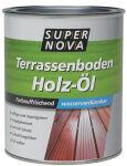 SUPER NOVA Terrassenboden Holz-Öl, 750 ml, bangkirai