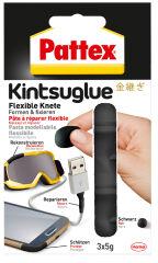 Pattex Pâte à réparer flexible Kintsuglue, blister, noir