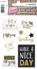 HERMA Sticker cadeau HOME 'You Are The Best'