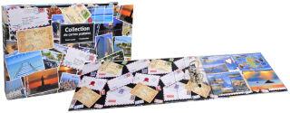 EXACOMPTA Classeur pour 400 cartes postales, 440 x 265 mm