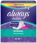 always dailies Protège-slip Fresh&Protect Normal Fresh