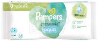 Pampers Lingettes humides Aqua Pure paquet de voyage