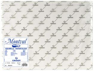 CANSON Papier à dessin 'Montval', 300 g/m2, 500 x 650 mm