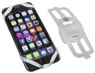 FISCHER Support smartphone pour vélo en silicone, blanc