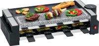CLATRONIC Raclette grill RG 3678, avec pierrade