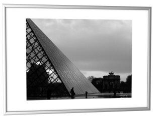 PAPERFLOW Cadre photo en aluminium, A4, argent
