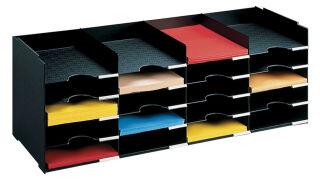 PAPERFLOW Station de tri Formularbox, 20 compartiments, noir