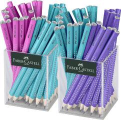 FABER-CASTELL Crayon graphite JUMBO GRIP SPARKLE carquois 2