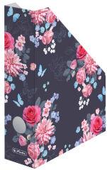 herlitz Porte-revues en carton ondulé Ladylike 'Flowers',