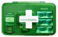 CEDERROTH Kit de premiers secours Wound Care Dispenser Blue