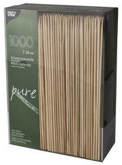 PAPSTAR Pique à brochette 'pure', bambou, longueur: 200 mm