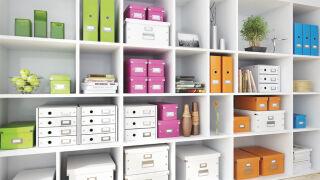 LEITZ Boîte de rangement Click & Store WOW Cube L, blanc