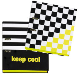 PAGNA Classeur à levier à motifs 'Keep cool', A4, dos: 75 mm