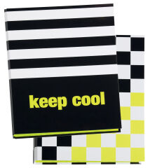 PAGNA Classeur à anneaux Keep cool, A4, carton, 2 anneaux