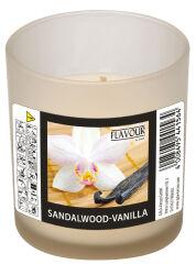 FLAVOUR by Gala Bougie parfumée, 'Sandalwood-Vanilla'