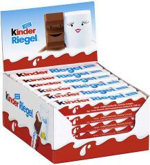 Kinder Barre de chocolat, présentoir de 36, contenu: 756 g