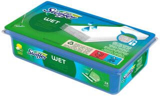 Swiffer Wet Lingettes nettoyantes, recharge, contenu: 12