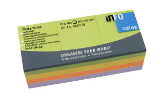 inFO notes Note repositionnable Sticky Notes Spring Line