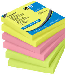 inFO notes Note repositionnable Power Notes 75x75 mm assorti