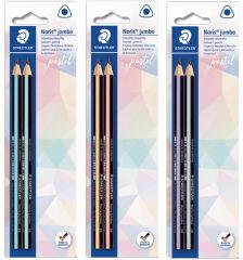 STAEDTLER Crayon Noris jumbo pastel, degré de dureté: HB,