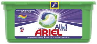 ARIEL Lessive 3en1 PODS COLOR, 30 lessives