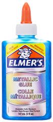 ELMER'S Colle Metallic, 147 ml, bleu