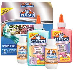 ELMER'S - Slime Kit 'Metallic Slime Kit' - 4 pièces