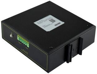 DIGITUS Commutateur industriel Gigabit PoE, 4 ports
